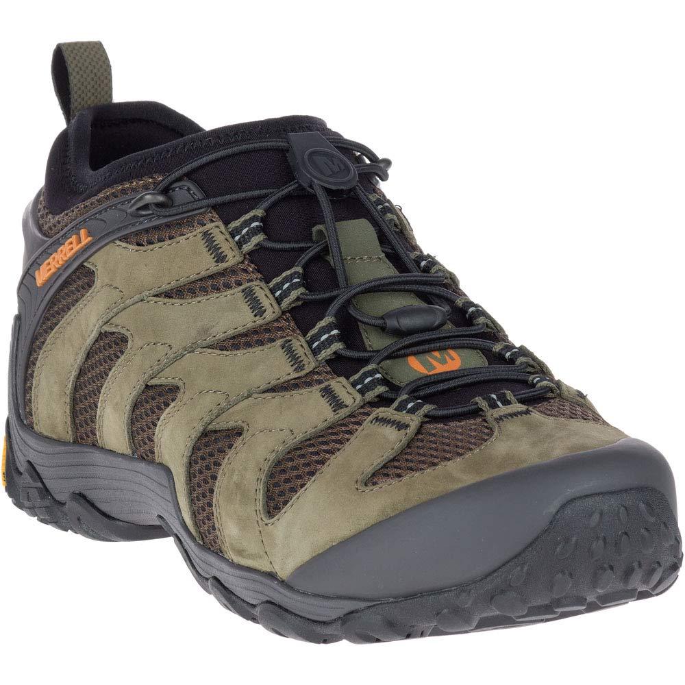 Dusty Olive Merrell Herren Cham 7 Limit Stretch Trekking- & Wanderhalbschuhe