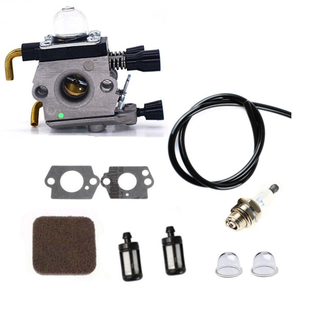 templehorse C1Q-S97 carburador junta Kit con aire filtro de ...