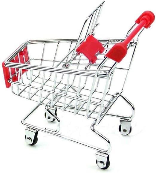 Popowbe Mini Supermarket Carro de la Compra, Caja de Crecimiento ...