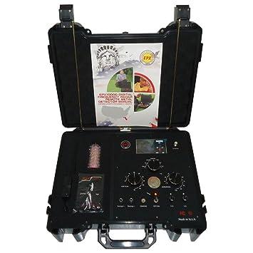 epx10000 detector de metal equipo remoto Digital frecuencia síntesis buscador de Radar escáner oro plata cobre Lron nit Gem P G Hunter Kit Oro detector de ...