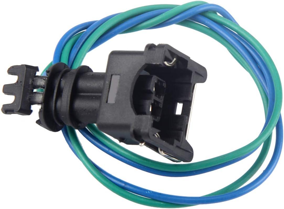 Beler 2 Poliger Kraftstoffpumpen Stecker Kabelbaum Anschluss Auto