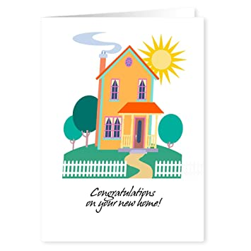 congratulations on your new home card pack 18 cards envelopes
