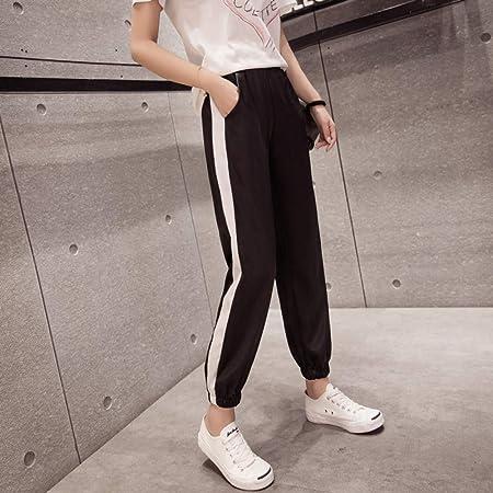 Dongwall Nuevos Pantalones de Mujer de Seda Rosa Super Fuego ...