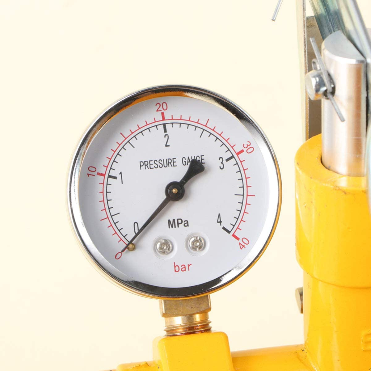 ULTECHNOVO Pressure Test Pump,Aluminum Hydrostatic Hand Pump Testing Tool Water Pressure Tester for Fire Sprinklers Irrigation Systems Pressure Vessels 40KG
