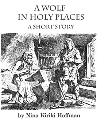 book cover of A Wolf in Holy Places