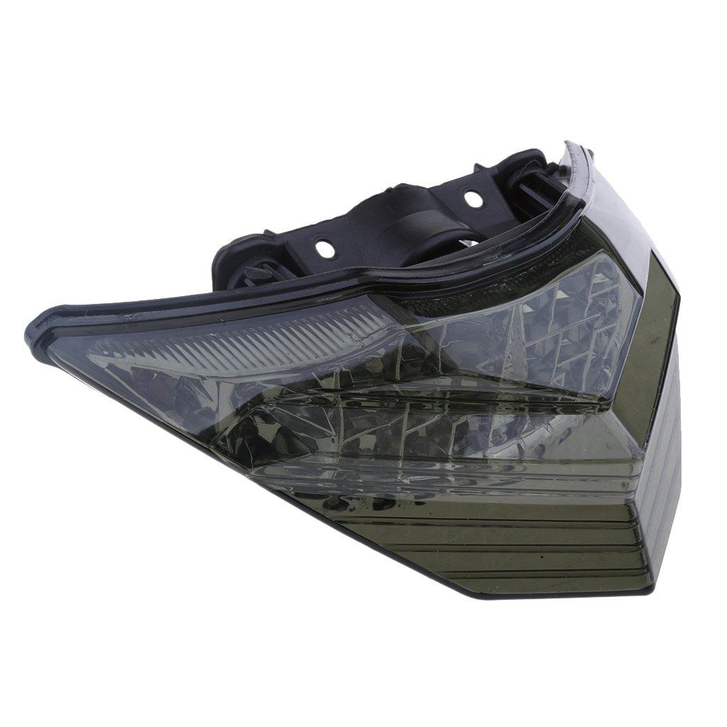 IPOTCH Luz trasera de la cola del freno integrada Kawasaki Z800 Herraje de Reparaci/ón Negro
