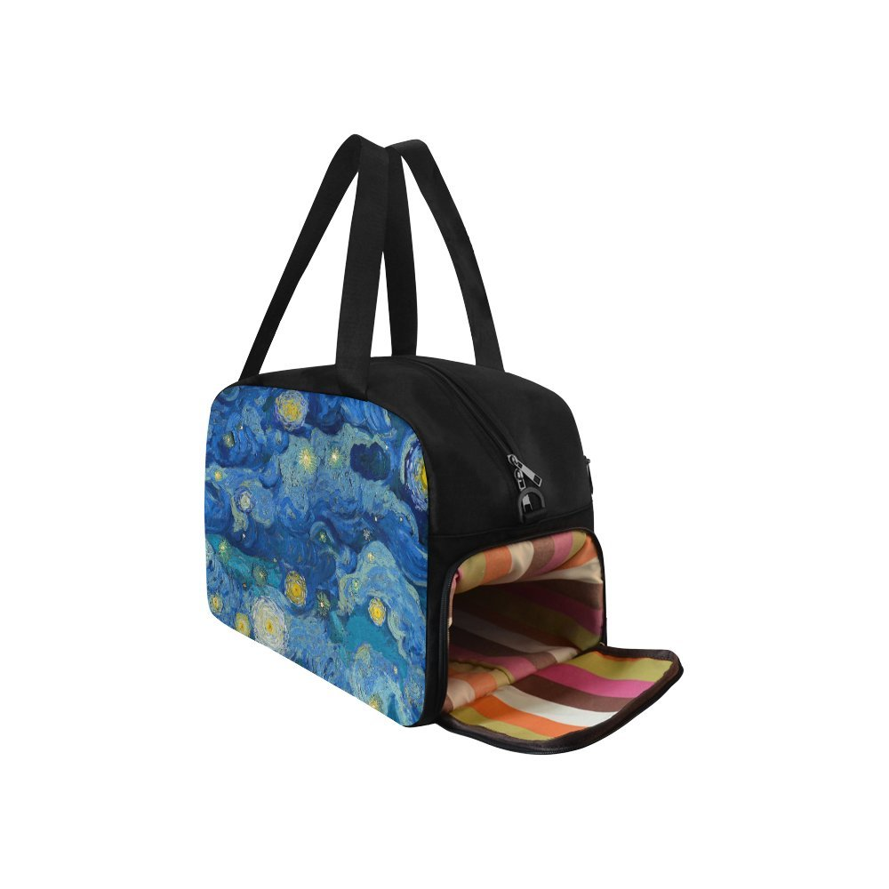 Travel Duffel Bag Luggage Totes for Weekend Trip