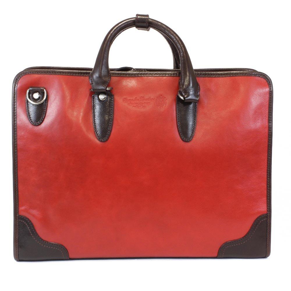 (青木鞄) LuggageAOKI ブリーフケース 4582 B00E5SKMGA 【30】レッド 【30】レッド
