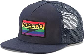 Speedo Pride Trucker Hat, Rainbow Brights, One Size