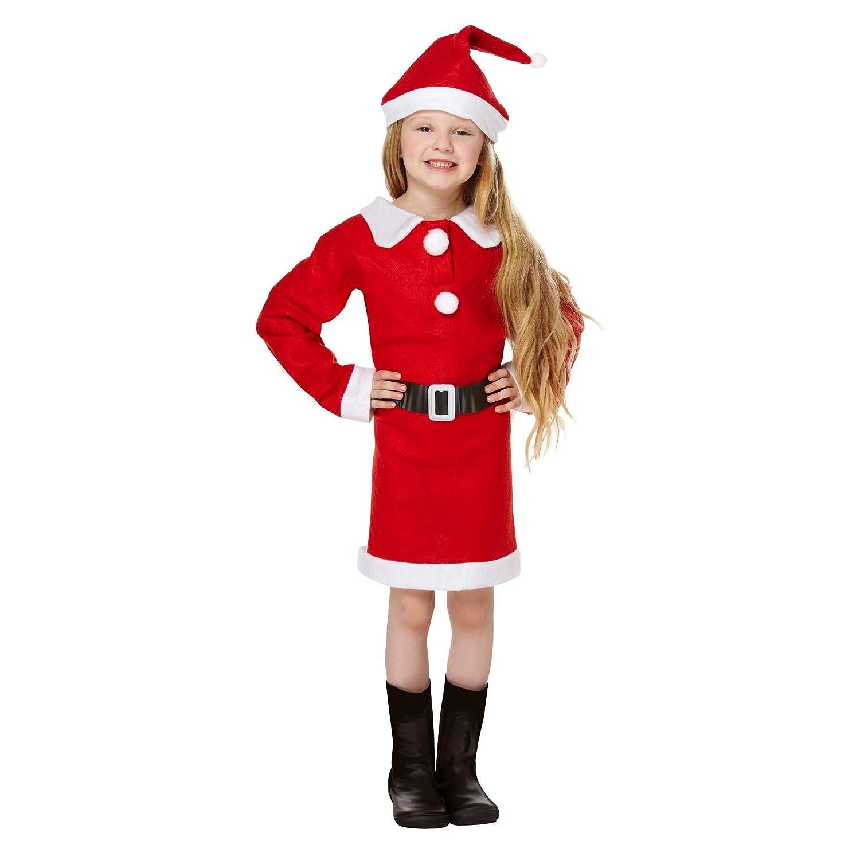 CHRISTMASSHOP Christmas Shop - Disfraz Infantil de Mamá Noel ...