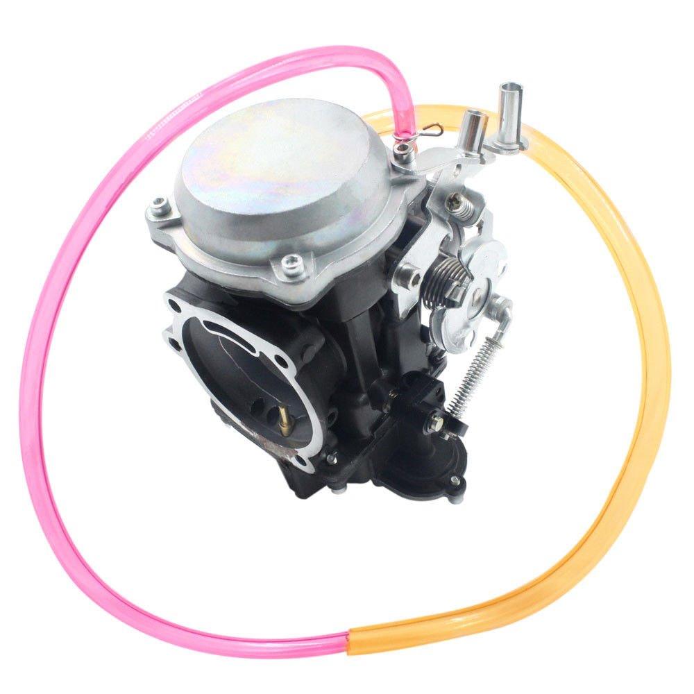 iFJF Carburetor for Harley Davidson 40MM CV Carburetor Performance Tuned idel Screw