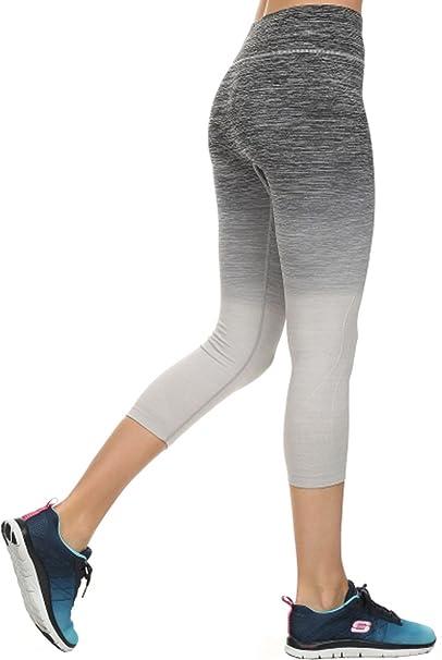 019e5d3816509 Ombre Activewear Yoga Capri Leggings at Amazon Women's Clothing store: