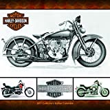 "Trends International 2017 Collectors Edition Wall Calendar, September 2016 - December 2017, 12.375"" x 12.6875"" x 1"", Includes 2 Posters, Harley-Davidson"