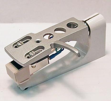 New Silver Deluxe Tocadiscos Headshell con nueva at3600 láser y ...