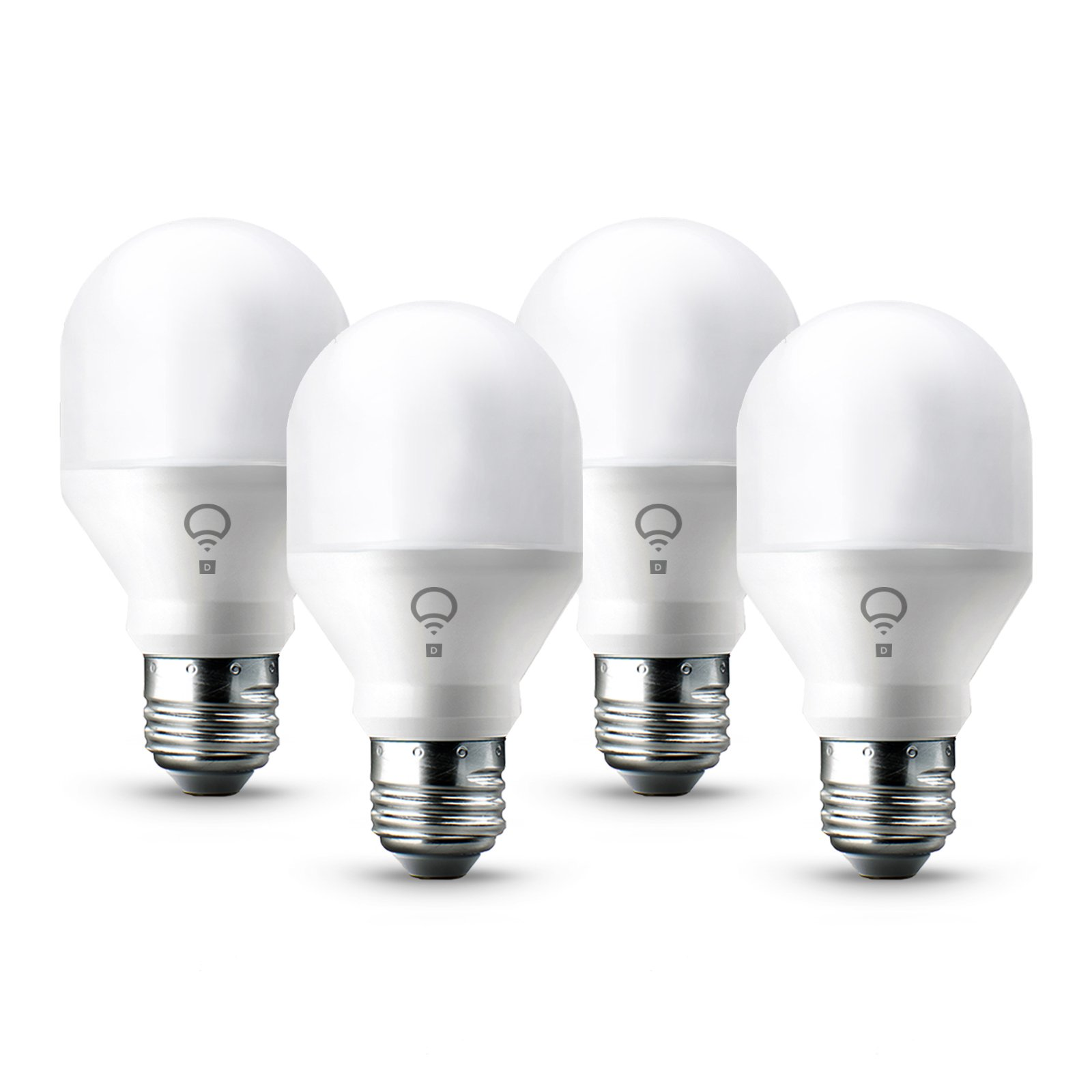 LIFX Mini Day & Dusk (A19) Wi-Fi Smart LED Light Bulb, Adjustable, Dimmable, No Hub Required, Works with Alexa, Apple HomeKit and the Google Assistant, Pack of 4 by LIFX (Image #9)