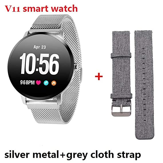 Relojes Inteligentes V11 V12 Hombres Smart Watch Reloj ...