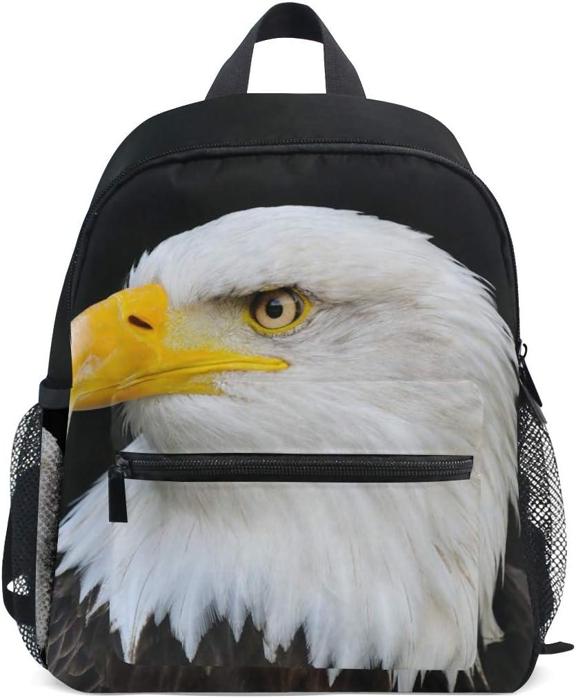 Backpack Rucksack Travel Daypack Bald Bird Animal Book Bag Casual Travel Waterproof