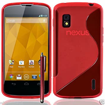 Funda Carcasa plegable polipiel para Google Nexus 4 E960 ...