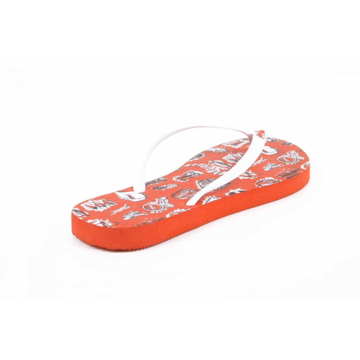 Coca Cola Coca Cola ladies flip flop CCA0636 ACE RED ROSSO aaaAwPSC