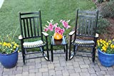 Set of 2 Rocking Chairs w Table 309145