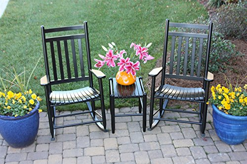 Set of 2 Rocking Chairs w Table 309145 - Rocking Chair Assembled