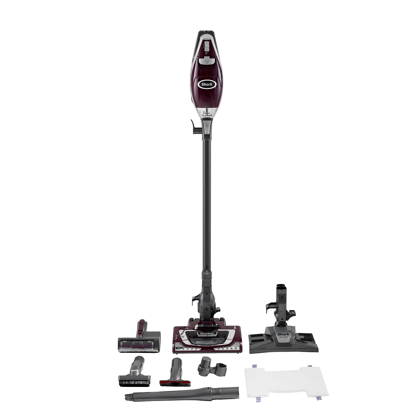 rocket upright pro deluxe ultra qvc vacuum of page shark luxury lighting light