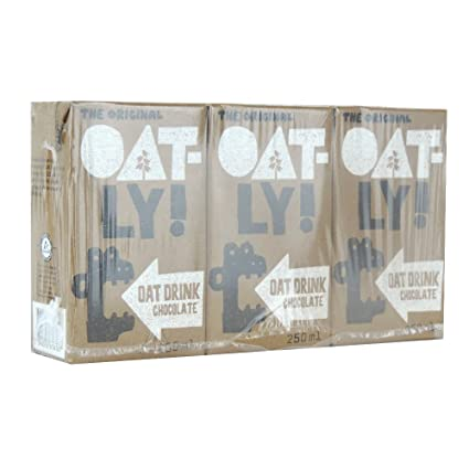 Oatly – Avena Bebida – Chocolate – Multipack de 3 – 250 ml ...