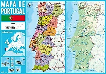 Portogallo Cartina.Grupo Erik Editores Tsept013 Sottomano Scuola Con Motivo Cartina