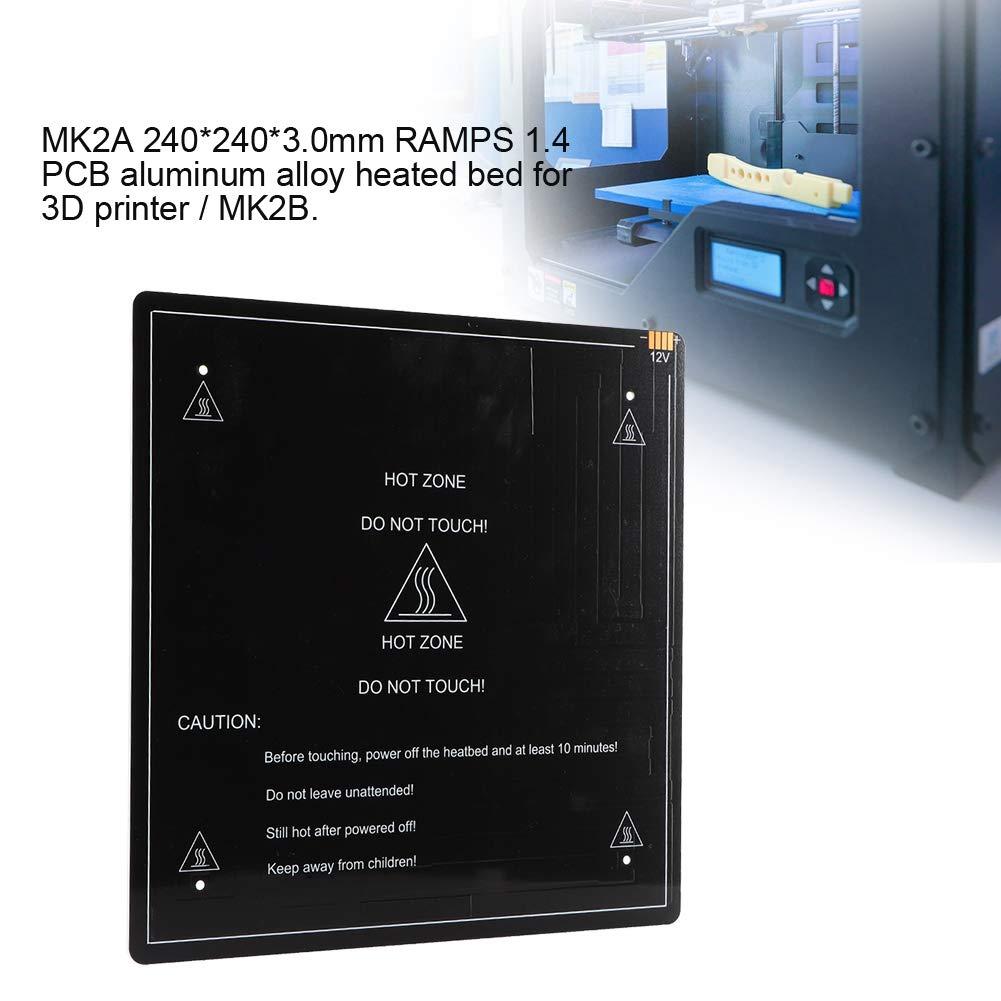 Tosuny Impresora 3D PCB Aleación de Aluminio Cama de Calor de ...