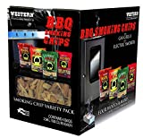 WESTERN 80485 Prime Wood BBQ Smoking Chips Variety Pack
