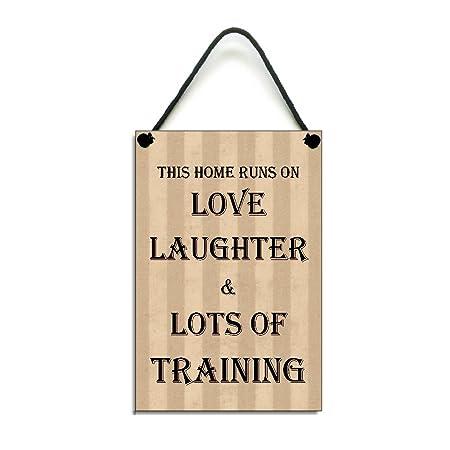 Esta casa se ejecuta en amor risas y un montón de formación ...