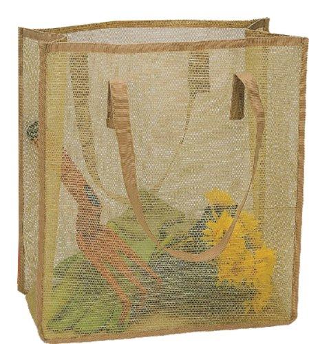Ladies Nylon Mesh Gardening Tool Holders Tote Bag with Handle, ()