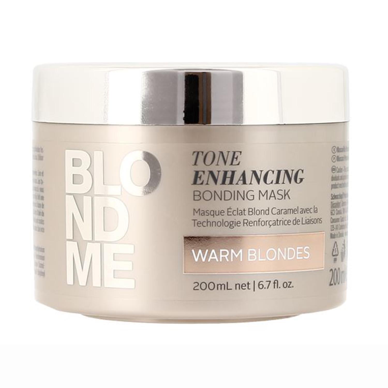 BlondMe by Schwarzkopf Tone Enhancing Bonding Mask For Warm Blondes 200ml 62698