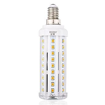 8272b5872c0e LED E14 Fassung Mais Birne BRIGENIUS Beleuchtung 3000K Leuchtmittel Corn  Light Ersatz 70W Warmweiß Energiesparlampe 9W