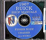 1967 Buick CD-ROM Repair Shop Manual & Body Manual