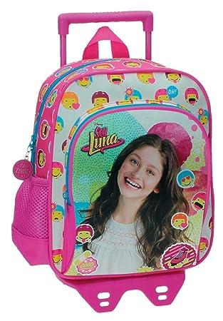 Disney Luna Icons Mochila Infantil, 6.44 Litros, Color Rosa: Amazon.es: Equipaje