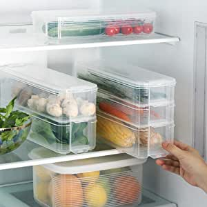 Plastic Storage Collecting Box Basket, Kitchen Refrigerator Fruit Food Organiser, Creative Eggs Vegetable Refrigerator Storage Box