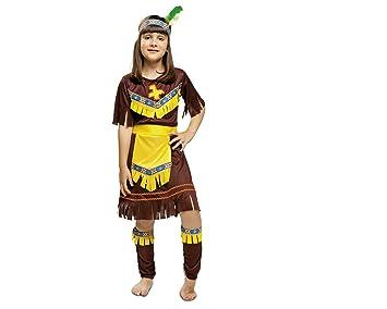 My Other Me - Disfraz de India, Talla 3-4 años, Color marrón ...