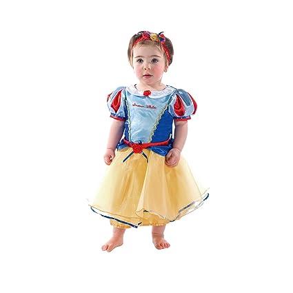 Disney Princesas Princesa de la Nieve Disfraz bebé, Color ((blau und gelb), 3 meses (Travis Designs DCPRSW03)