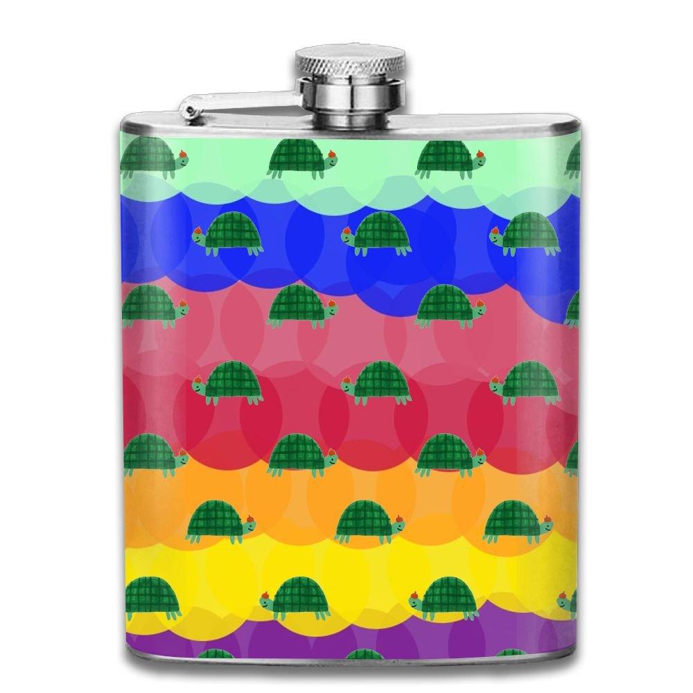最高品質の jf-xレインボーSea B07CV7TQ2V Turtles (7oz) Personalised酒WiskeyステンレススチールヒップフラスコワインポットFlagon (7oz) Turtles B07CV7TQ2V, ニシカツラチョウ:1adf81b2 --- a0267596.xsph.ru
