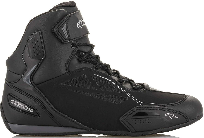 Alpinestars Stella Faster-3 Drystar Shoes 7.5, 1139-BLACK Dark Gray Fuchsia