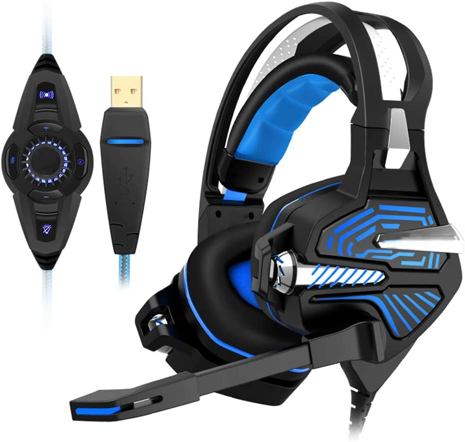 AHSOG Eスポーツゲーム、振動ヘッドフォン、ヘッドマウント、コンピューター、ノートブック、ジェダイサバイバル、マイク付き、7.1チャンネル、有線、4D振動音