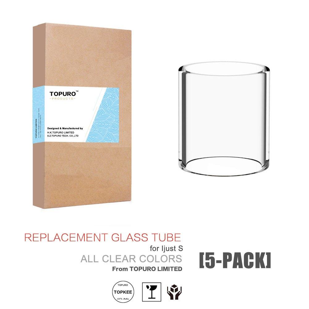 topkee repuesto Pyrex Cristal para iJust S transparente colores (5 unidades): Amazon.es: Hogar