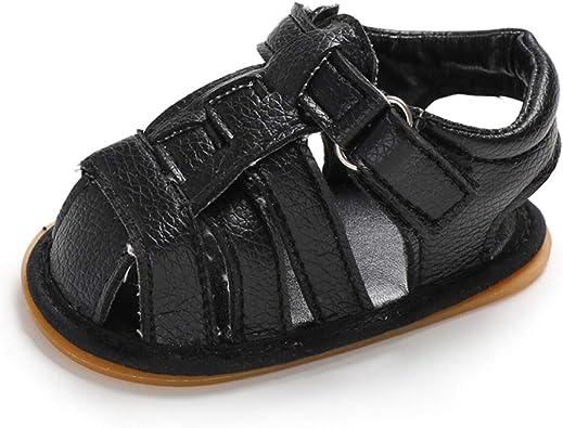 AMEIDD Zapatos para beb/é Bebe Recien Nacido Verano Sandalias Zapato Casual Zapatos Sneaker Antideslizante Suela Suave para 0-6 6-12 12-18 Meses