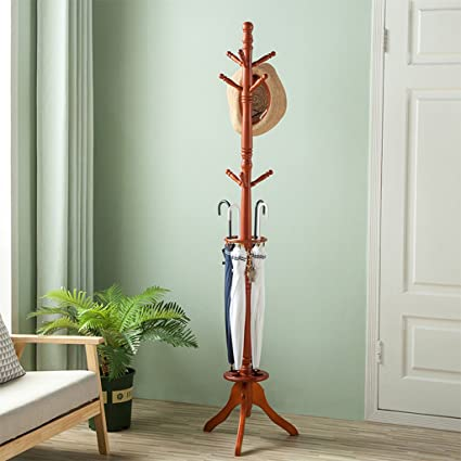 Coat Stand - Europea Simple Moderno de Madera Maciza ...