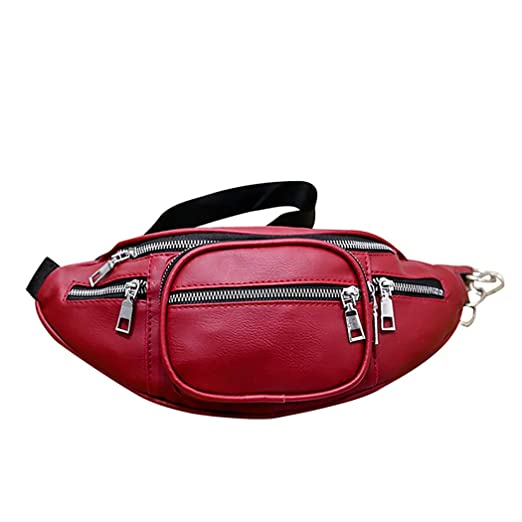 46efe362d2e1 Amazon.com: Fashion Wasit Bag Unisex Bag for Waterproof Waist Bags ...