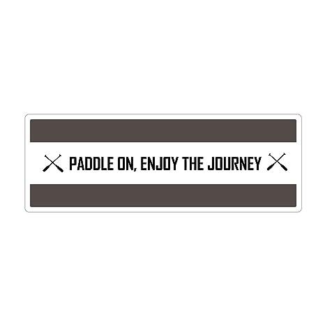 Amazon.com: Kayak texto en inglés, cita – Paddle en ...