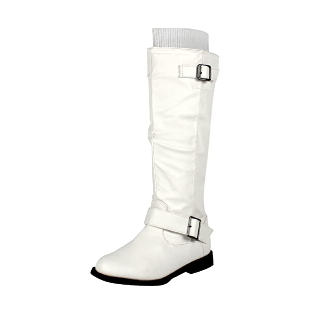 Amazon.com | West Blvd Womens Osaka Knee High Motorcycle Riding Boots |  Knee-High