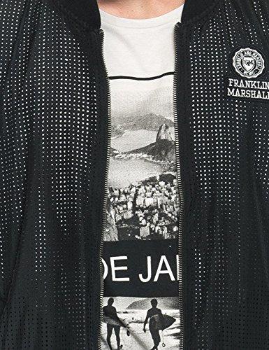 Franklin Bomber Marshall Polyester Jacket Men's negro amp; 100 Black Men's rgxrqw