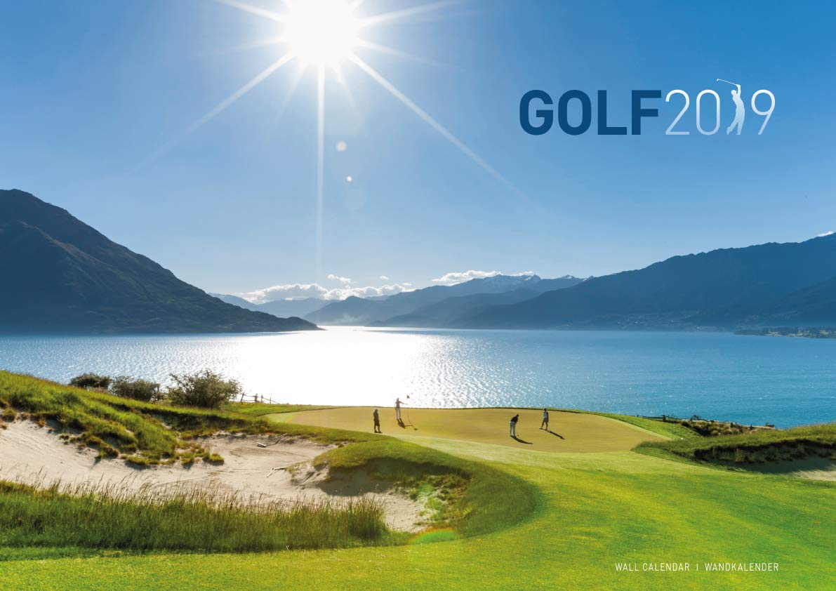 Golf 2019 Calendar by ML Publishing Group